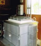 上蓋式陶芸用電気窯 15KW
